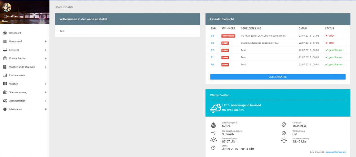 Leitstellensoftware für dein Projekt